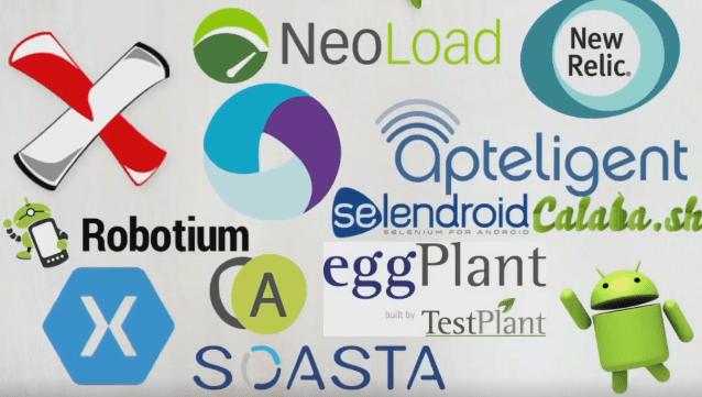 test automation frameworks for mobile apps