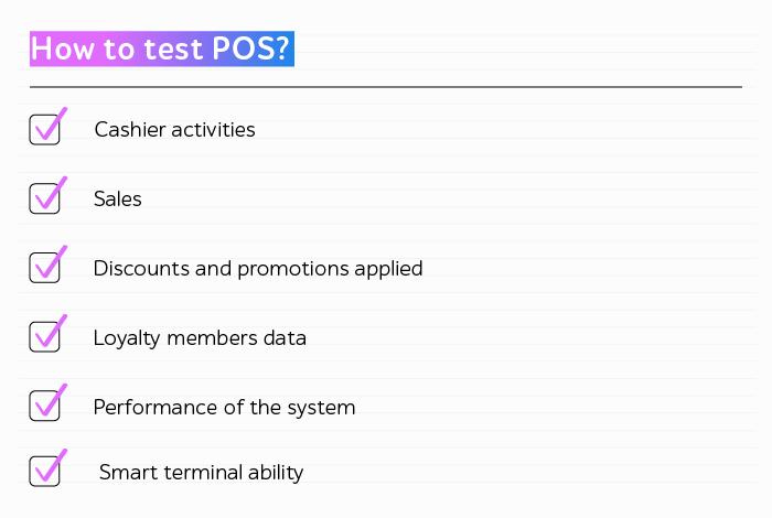 Testing POS