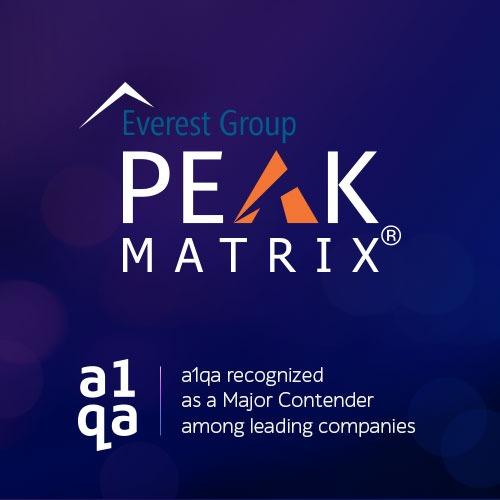 a1qa in Peak Matrix 2020