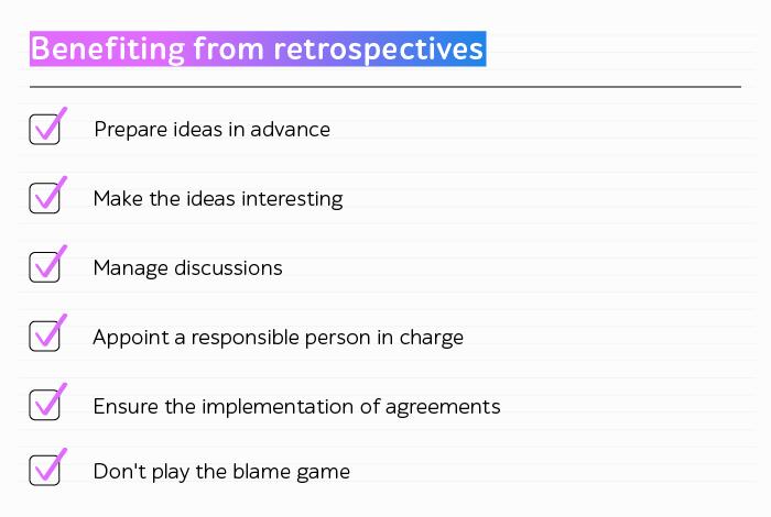Retrospective benefits
