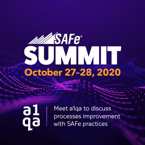 a1qa the Global SAFe Summit 2020
