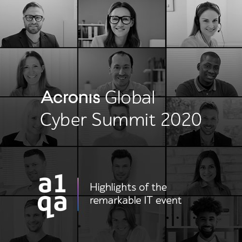 Acronis results a1qa
