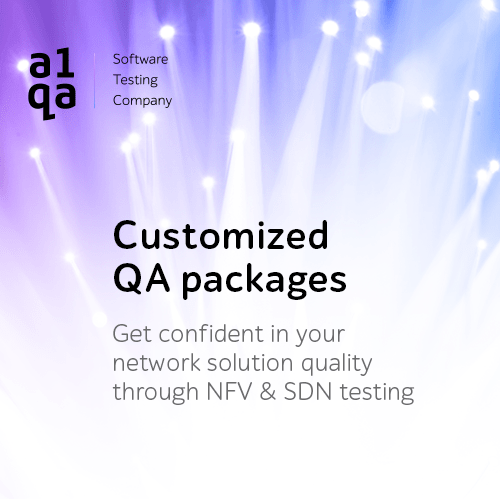 NFV & SDN testing packages from a1qa