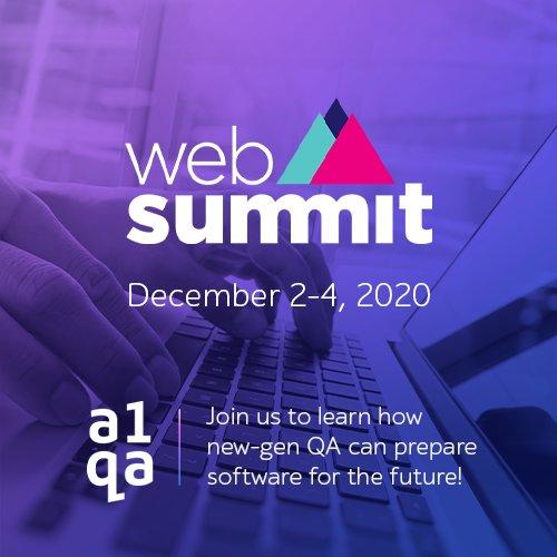 a1qa at the Web Summit 2020