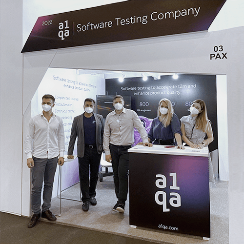 MWC 2021 Barcelona & a1qa